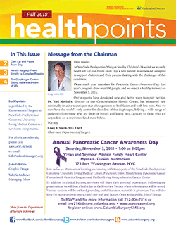 newsletters columbia university department of surgery