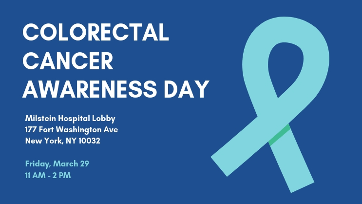 2019 Colorectal Cancer Awareness Day Columbia University Department Of Surgery