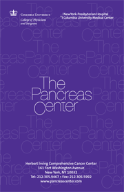 Pancreas Center Patient Brochure