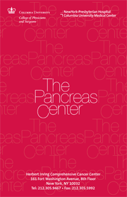 Pancreas Center Physician Brochure