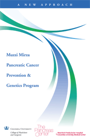 Pancreatic Cancer Prevention & Genetics Program Brochure