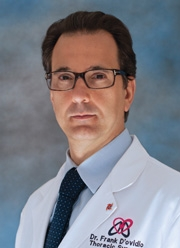 Frank D'Ovidio, MD, PhD, Surgical Director, Lung Transplantation Program