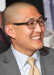 Dr. Oh at the 2013 Graduation Ceremony