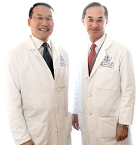 Dr. James Lee and Dr. John Chabot