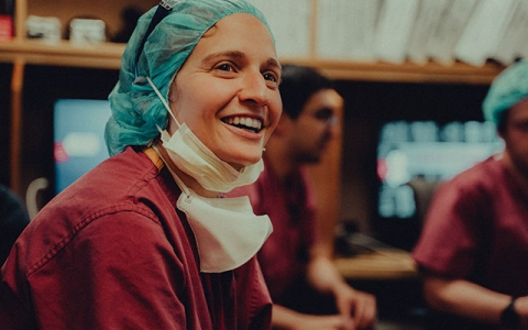 Meet Sophie Mayeux, MD, and the Surgical SWAT team that formed to help out their colleagues in other departments during the epidemic.