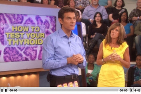 Dr. Oz Show: How to Test your Thyroid