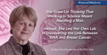 The Woman Behind the BRCA Gene